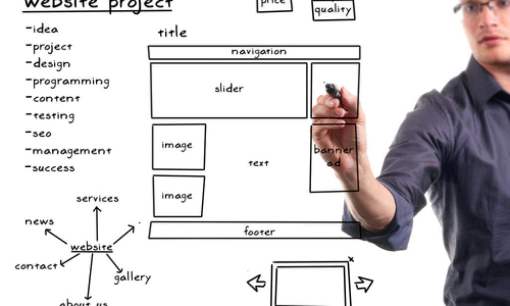 Vzhľad web stránky predáva