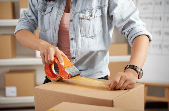 Lepiace pásky s potlačou sú účinnou reklamou