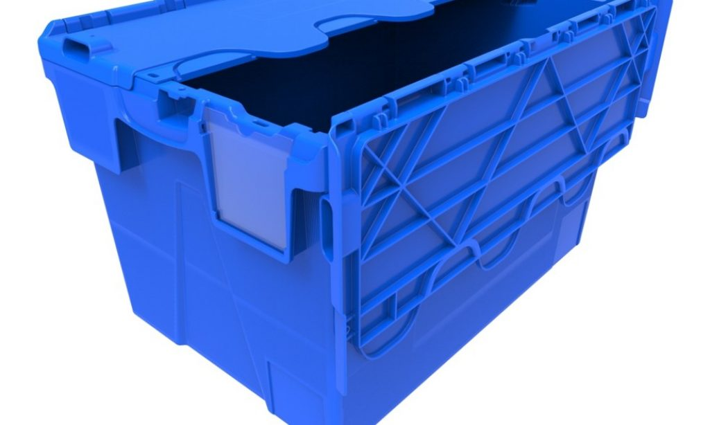 Uzamykateľný box Integra a Kaiman chráni vaše prepravované výrobky pred vysypaním a poškodením