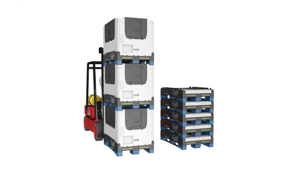 Ekologické skladovanie a preprava materiálu